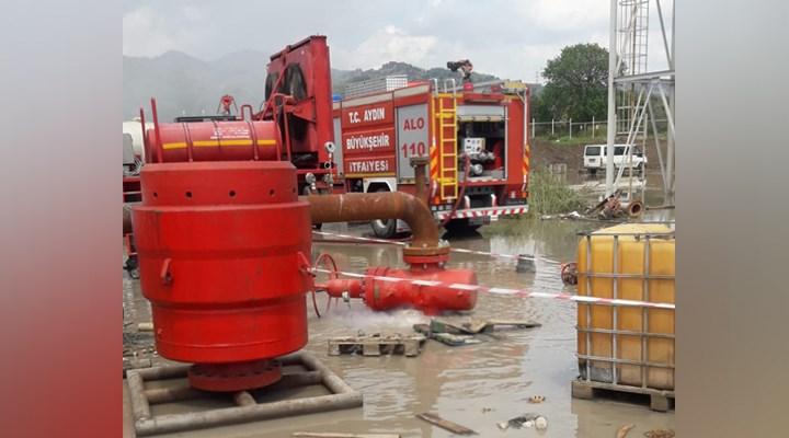 Jeotermal alanda sıcak su patlaması meydana geldi