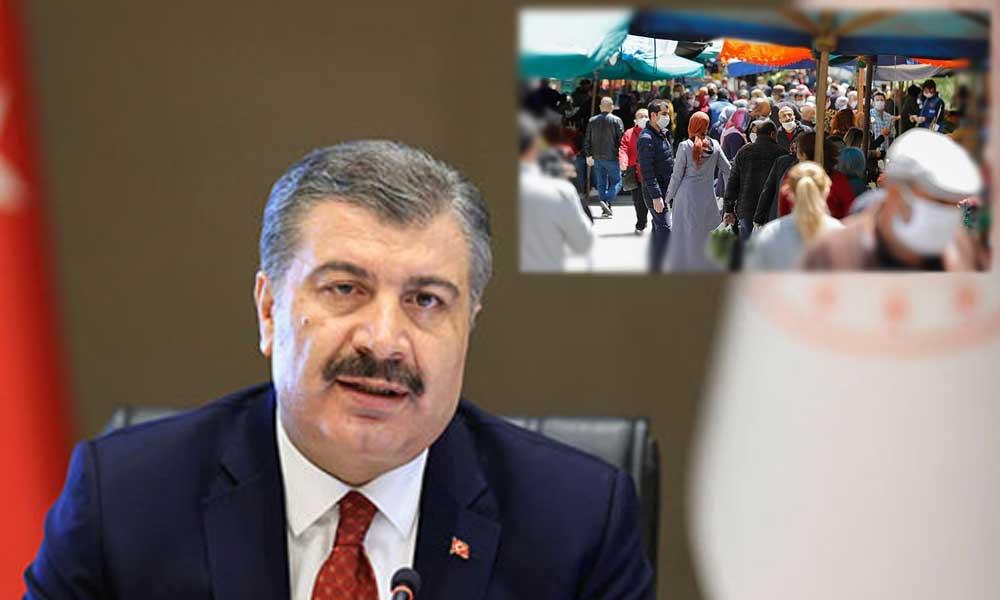 Sağlık Bakanı'na 'semt pazarı' sorusu