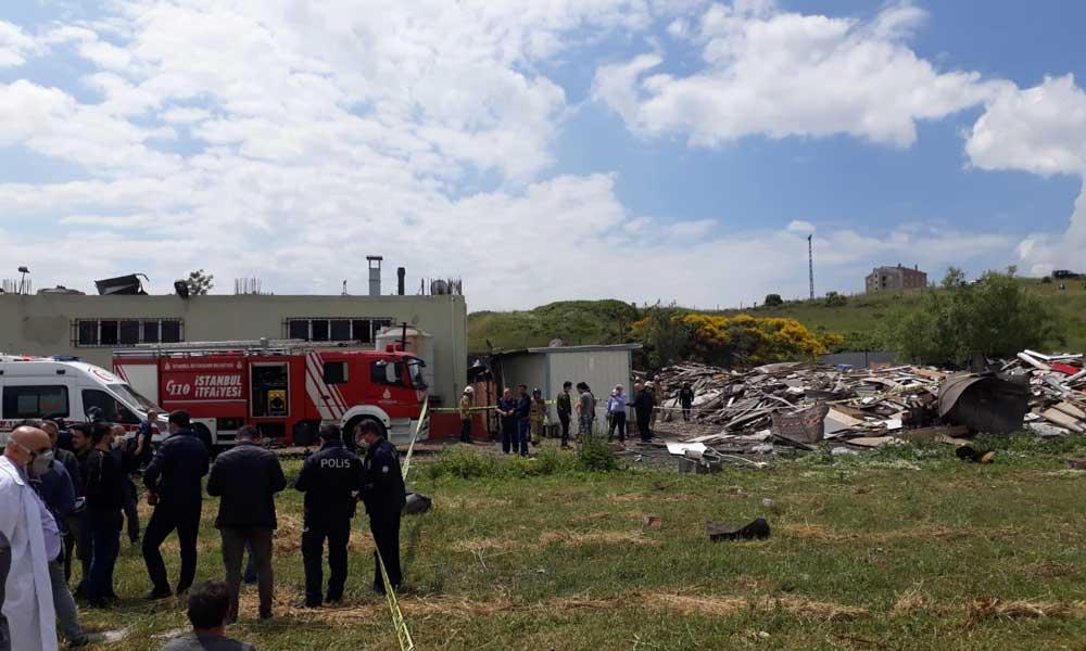 Başakşehir'de bir fabrikada patlama! İki kişi hayatını kaybetti