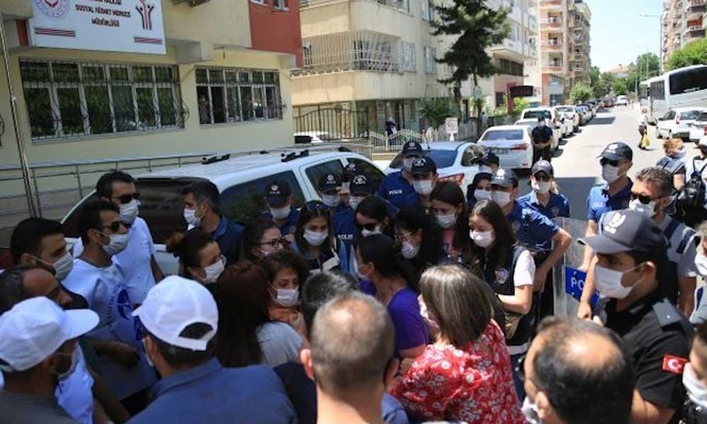 Sürgün protestosuna polis müdahalesi: 8 kişi gözaltına alındı