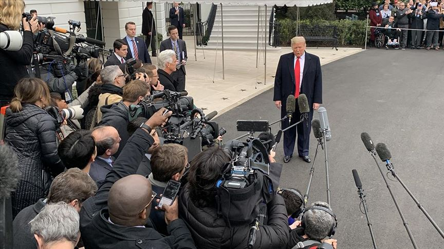 Beyaz Saray'da gazetecilere günlük koronavirüs testi yapılacak