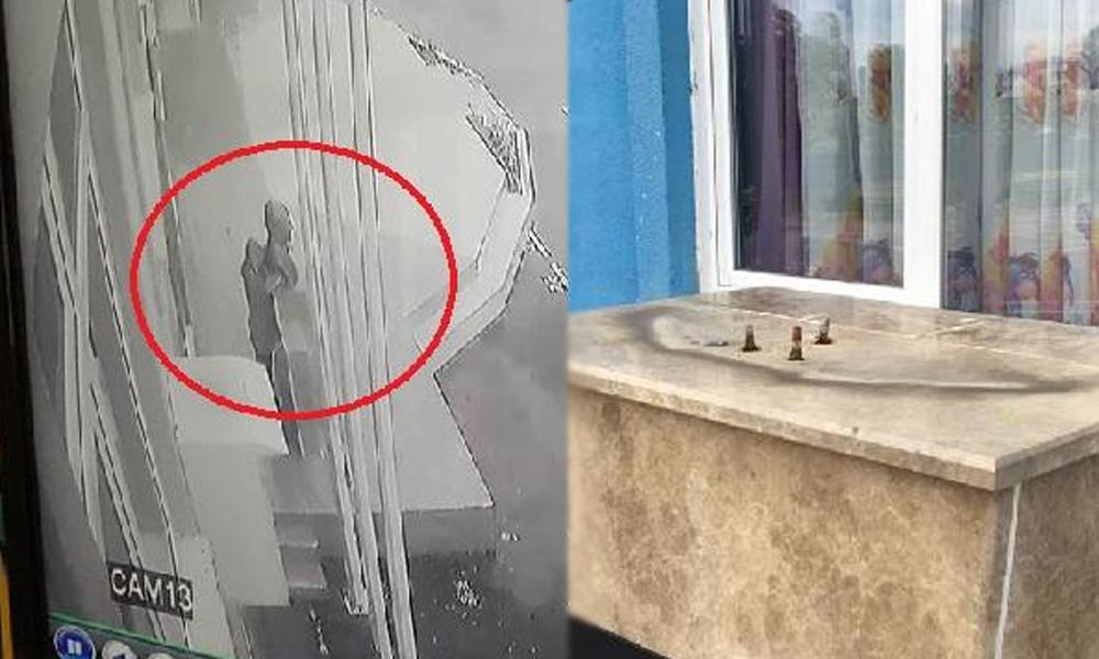 Bunu da gördük… Atatürk büstünü çaldılar!