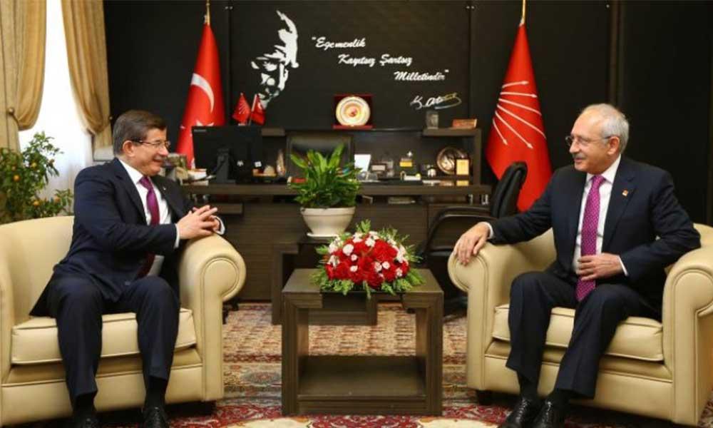 Davutoğlu, Kılıçdaroğlu'nu bu sözlerle övdü