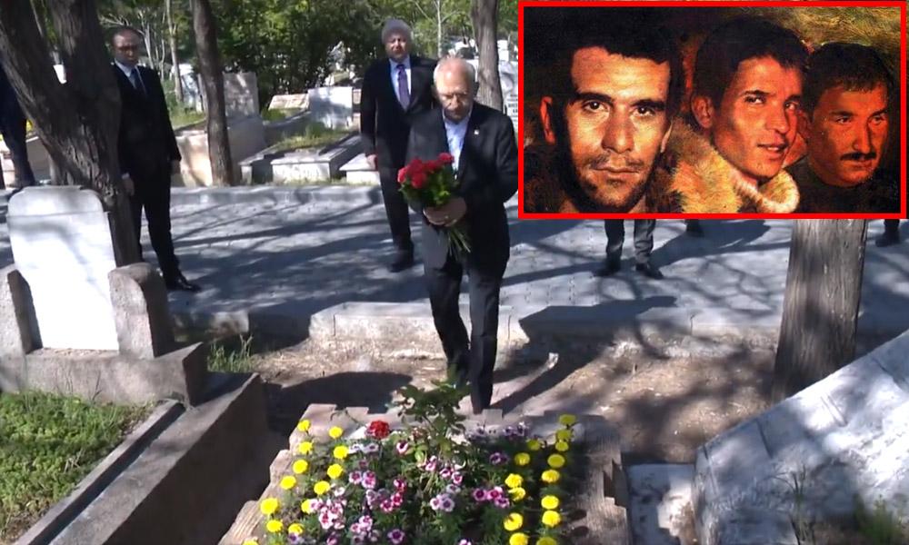 Kemal Kılıçdaroğlu 3 fidanı mezarı başında andı