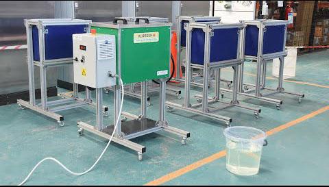 Bu cihaz fiyatları yükselen dezenfektanın maliyetini düşürecek