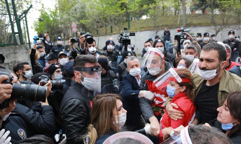Gözaltına alınan DİSK Başkanı Arzu Çerkezoğlu yaşananları TELE1'e anlattı