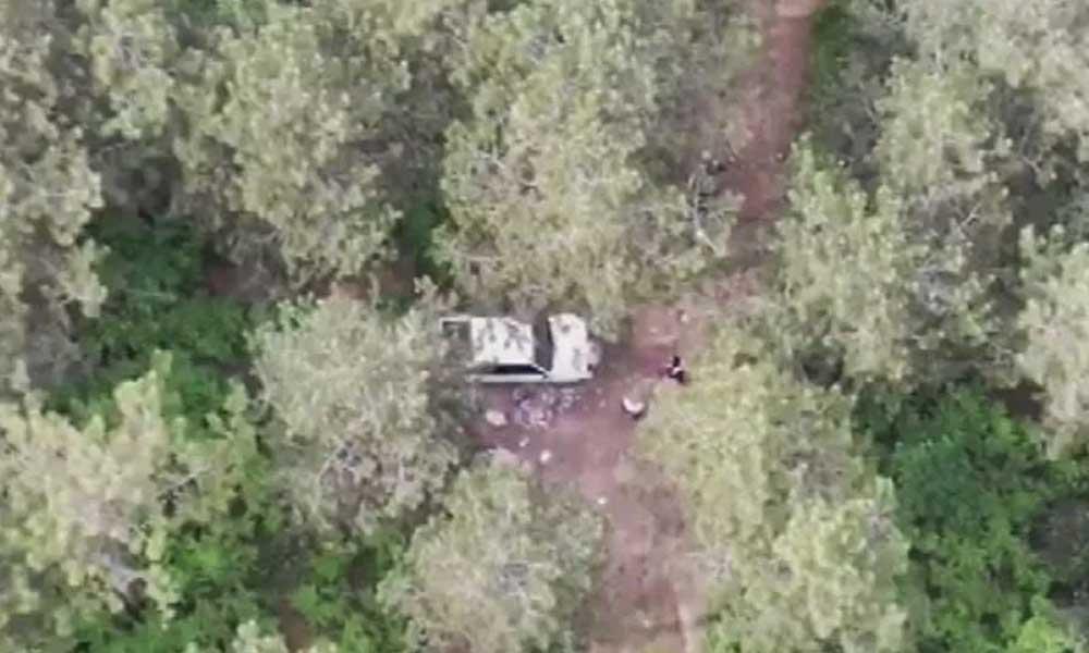 Yasağı delip piknik yapanları drone ile yakaladılar