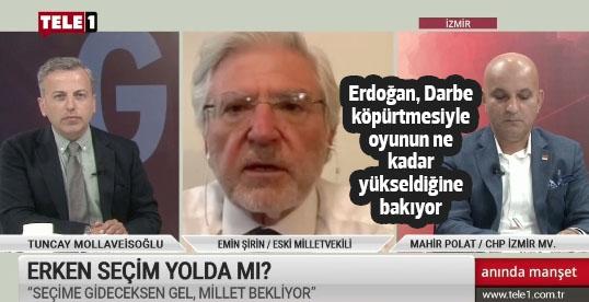 Polat: Erken seçim yok diyor ama bakanlarını dahi sahaya saldı