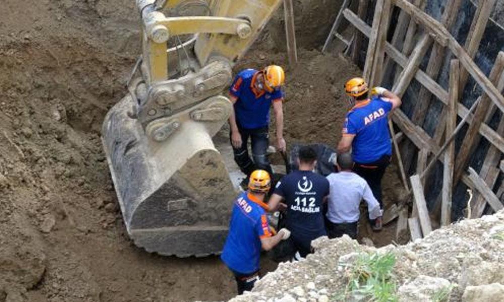 Enkaz altında kalan 70 yaşındaki işçi hayatını kaybetti…