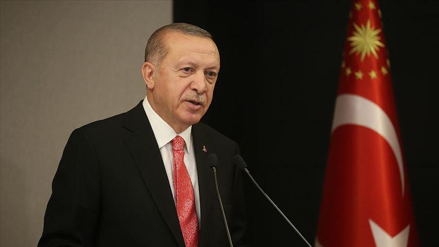 Erdoğan'dan 19 Mayıs mesajı: Gezi'yi hedef aldı, tutuklanan CHP'li başkanı suçladı