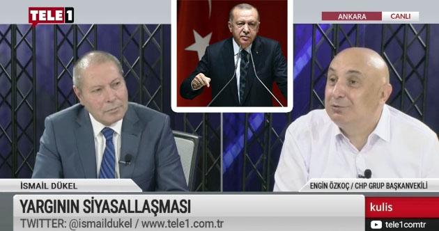 Özkoç: Sadece bir tek kişinin söylediği sözün hüküm sürdüğü bir Türkiye var