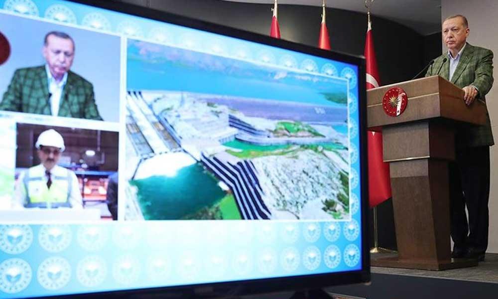 Erdoğan: Türkiye 2002'de 276 baraja sahipti biz buna 585 baraj daha ekledik