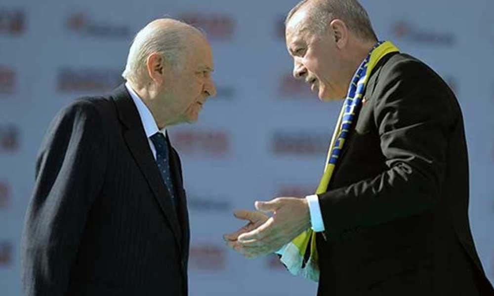 Flaş iddia: Erdoğan sunuyor, Bahçeli onaylamıyor