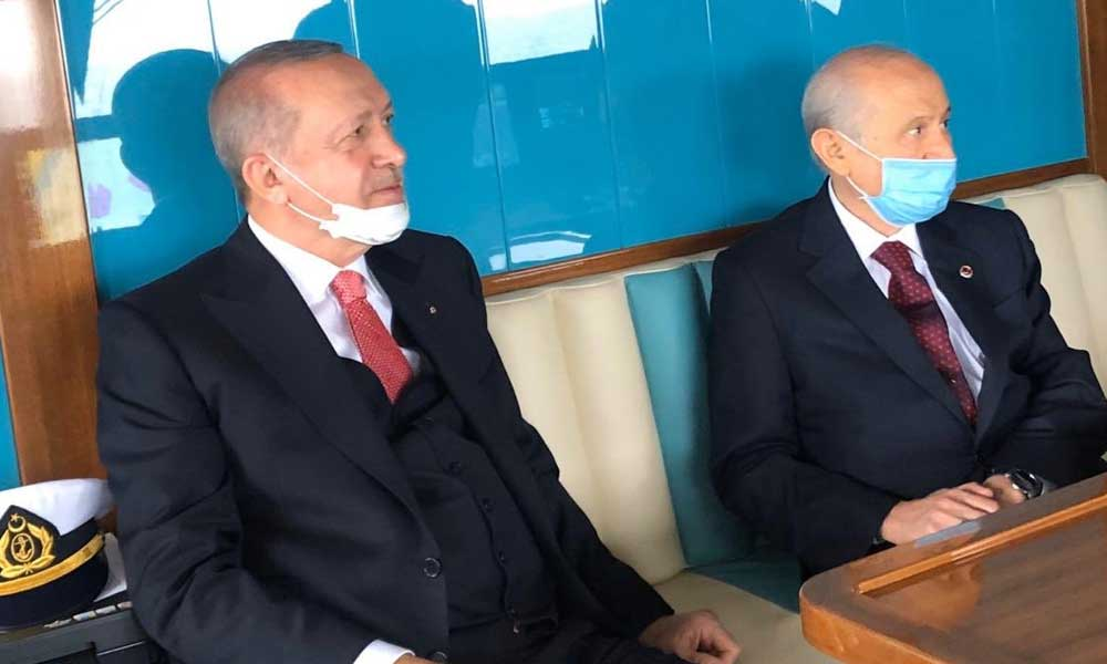 Erdoğan ve Bahçeli Yassıada'ya gitti