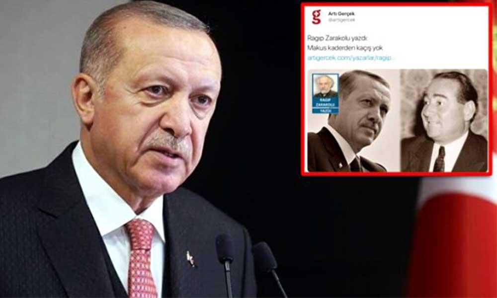 Erdoğan'dan Evrensel yazarı Ragıp Zarakolu'na suç duyurusu