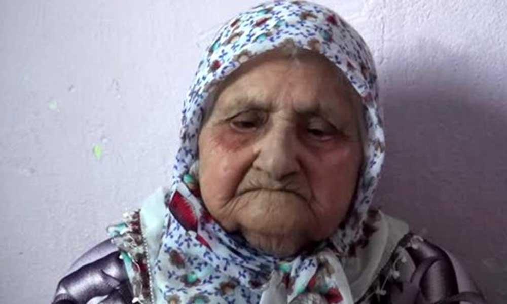 Eşe Nine 125 yaşında koronavirüsü yendi