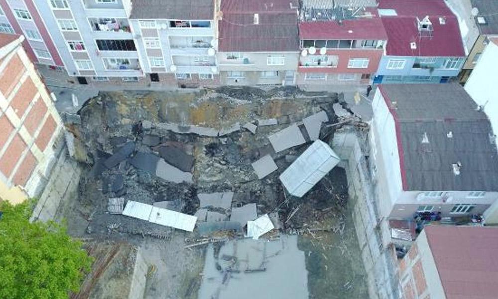 AKP'li Belediye'den yıkıntıya jet hızıyla ruhsat