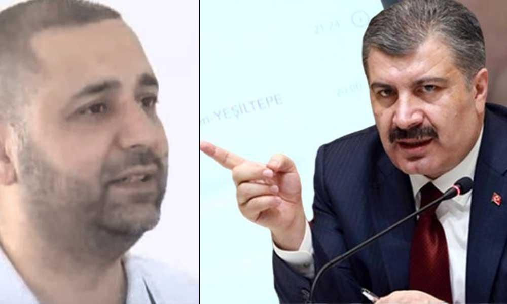 Sağlık Bakanı Koca, Mazhar Alanson yerine yanlışlıkla muhtarı aradı