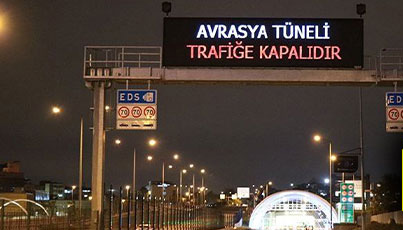 Avrasya arıza yaptı, İstanbul felç oldu