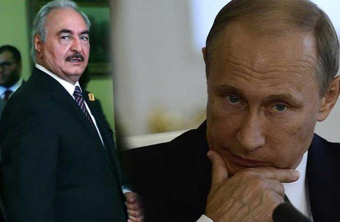 İddia: Rusya Hafter'e savaş uçağı gönderdi