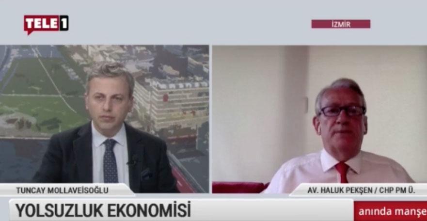 """Pekşen: """"Türkiye'nin bütçesinin yüzde 20'si yolsuzluklara gidiyor"""""""