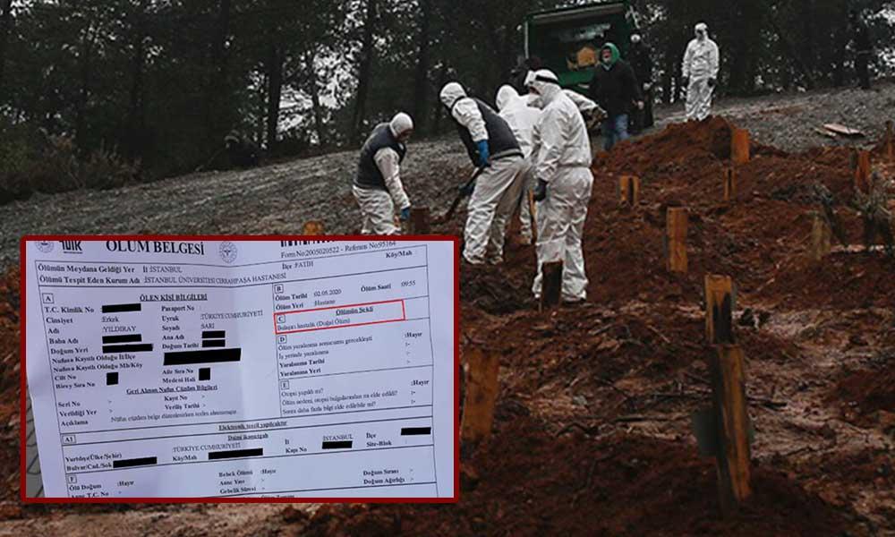 Koronavirüsten hayatını kaybeden İBB çalışanının ölüm raporuna 'bulaşıcı hastalık' yazıldı
