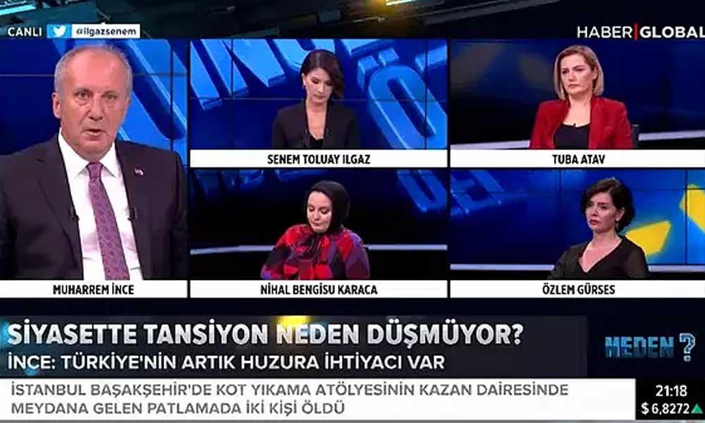 İnce'ye Saray'dan ilk yanıt: Türkiye'de medya özgürce görüşlerini yansıtmaktadır