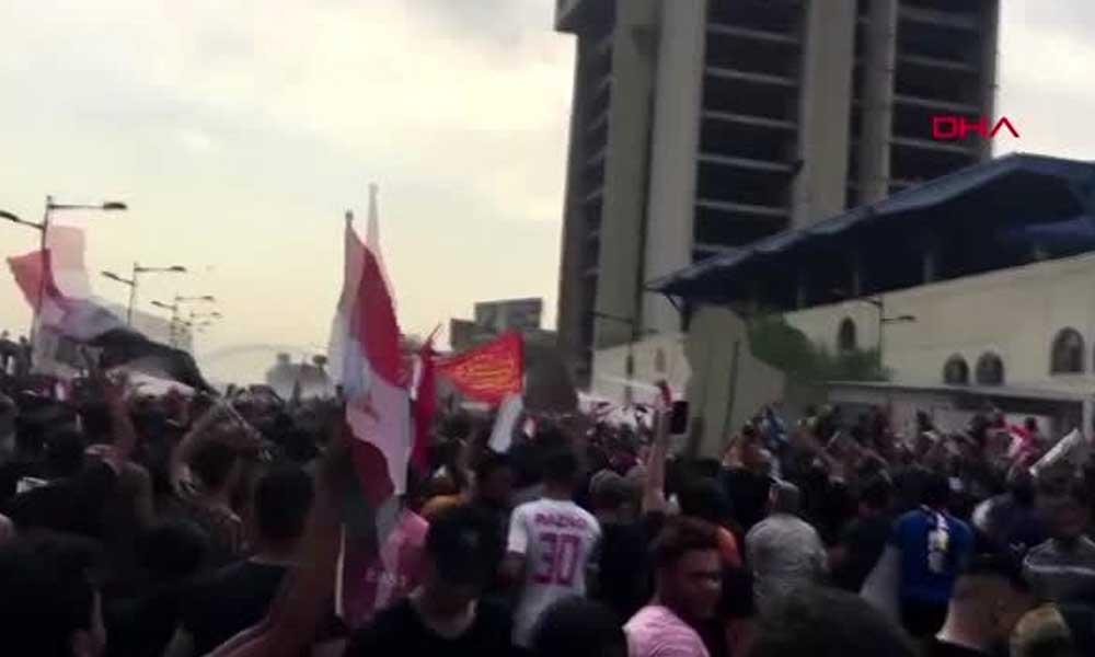 Irak'ta hükümet karşıtı protestolar yeniden alevlendi