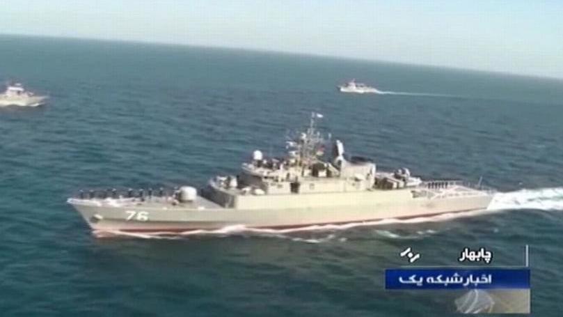 İran bu kez kendi savaş gemisini vurdu