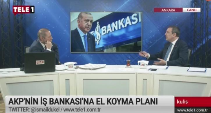 Türeli: İş Bankası'na el koyma planı 'şüyuu vukuundan beter'
