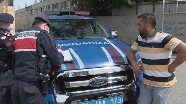 """Jandarma denetimine yakalandı:""""Kadın dırdırından kaçtım"""""""