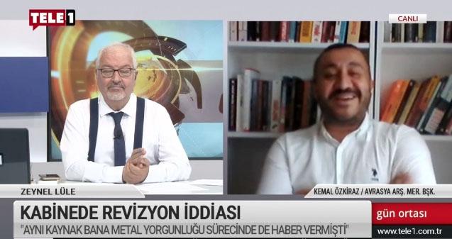 Özkiraz: Yatırımcılar Berat Albayrak'ın gideceğine çok sevindi