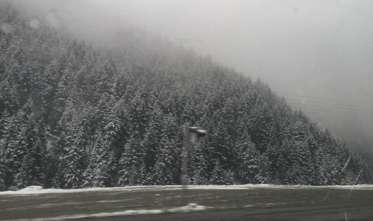 Yazı beklerken kar sürprizi
