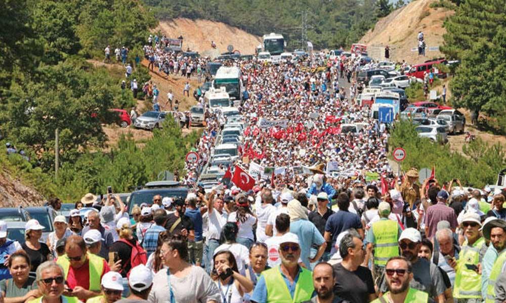 Kazdağları'nı savunan yurttaşlara 54 bin liralık ceza