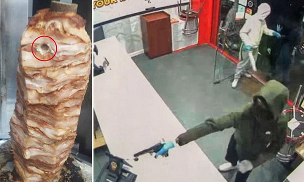 Kebapçı dükkanına silahlı saldırı! Ölü taklidi yaptılar