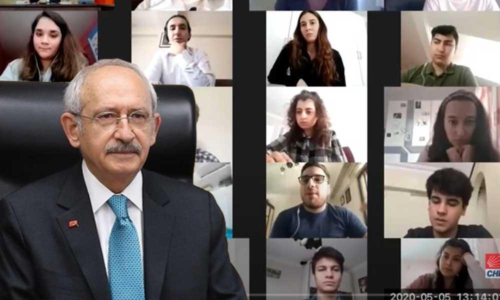 Kılıçdaroğlu YSK mağduru öğrencilerle bir araya geldi