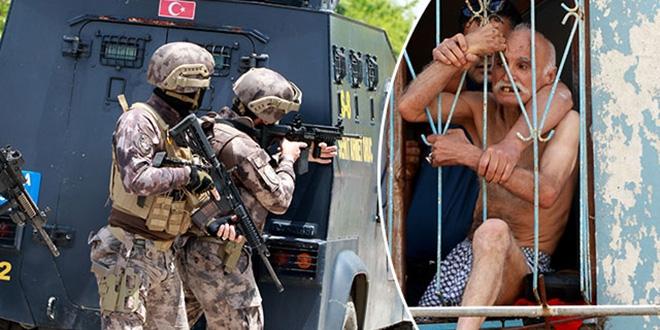 İlaçlarını almayan dede havaya ateş açıp polise direndi