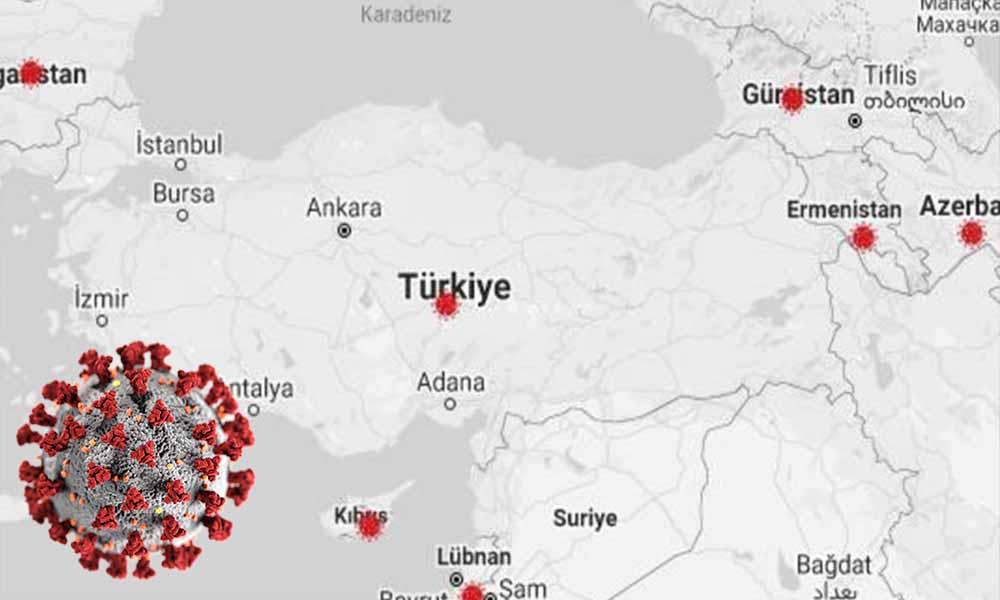 Türkiye'de koronavirüsten hayatını kaybeden kişi sayısı 4 bin 669 oldu
