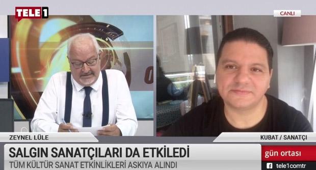 Kubat, TELE1 izleyicilerine Mahzuni Şerif'ten az bilinen bir türkü okudu
