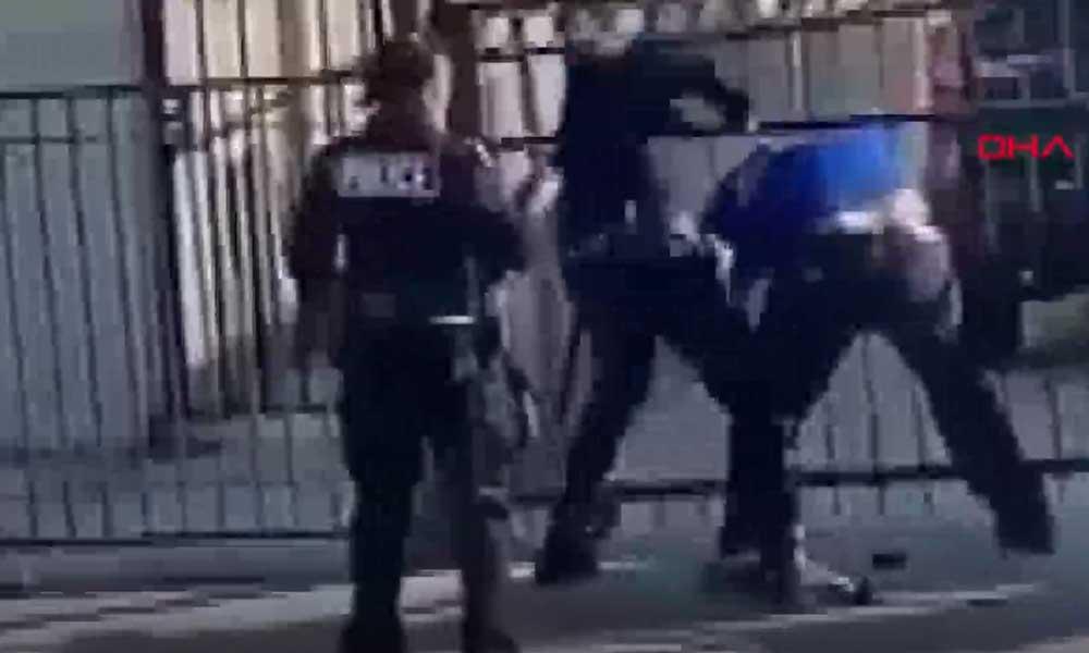 Polis şiddeti Los Angeles'a sıçradı! İki polis, bir siyahi vatandaşı darp etti