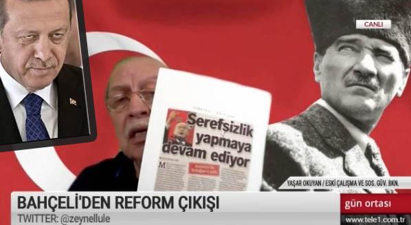 Okuyan: 'MİT Ajanı Bahçeli, MHP'de akılalmaz reform ve kraldan çok kralcılar'
