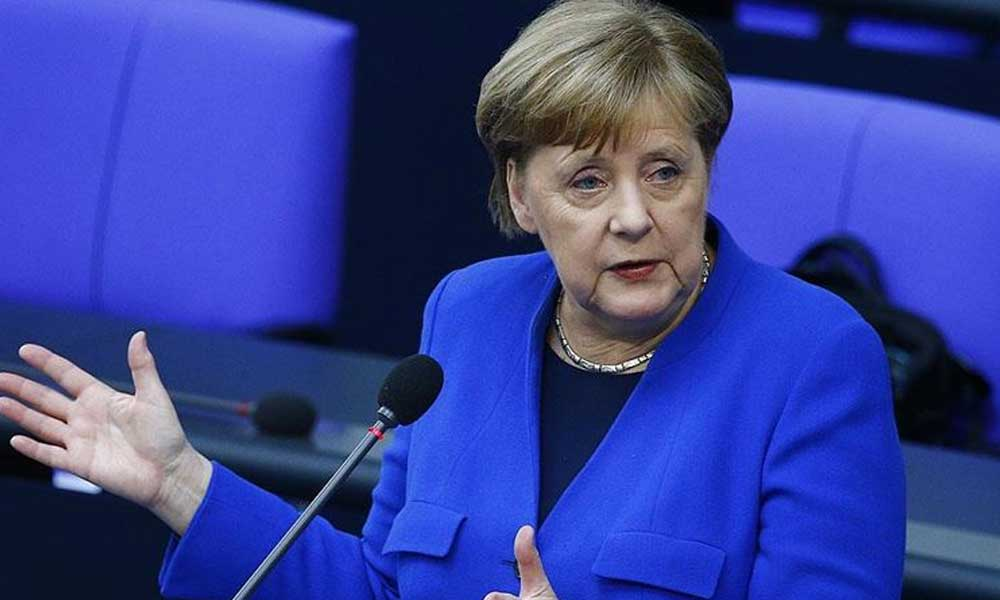 Merkel'den Türkiye'yi Doğu Akdeniz'de zora sokacak açıklama