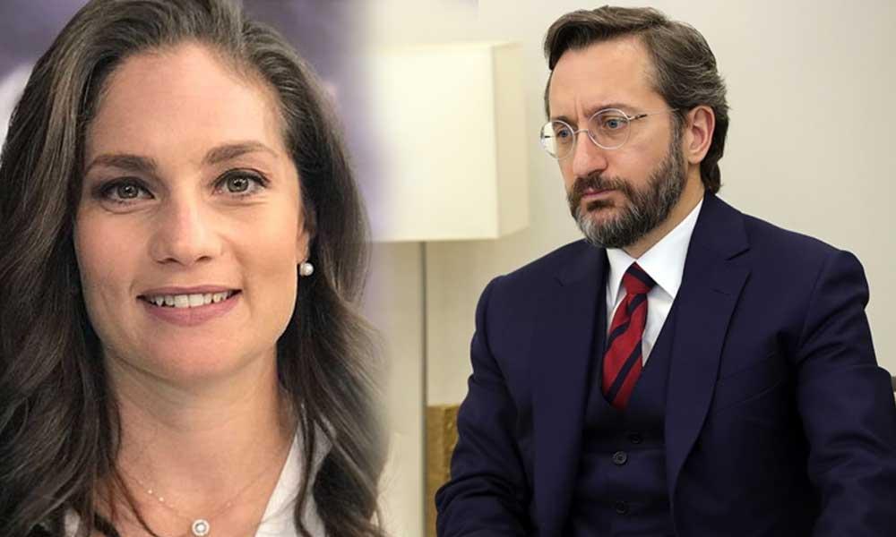 Nevşin Mengü'den Fahrettin Altun'a 'özgür medya' yanıtı
