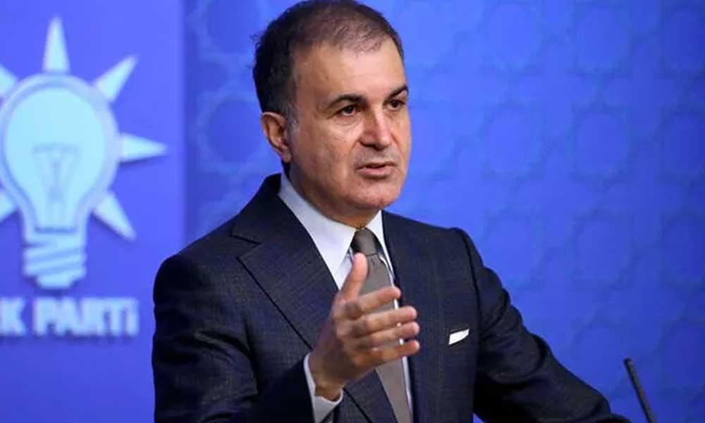 AKP Sözcüsü Çelik: Cumhuriyetimiz Kılıçdaroğlu tarafından hedef alınmaktadır