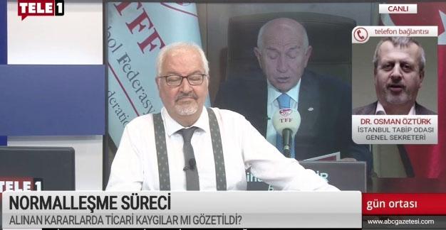 Osman Öztürk'ten Nihat Özdemir'e; Koronaya röveşata olmaz