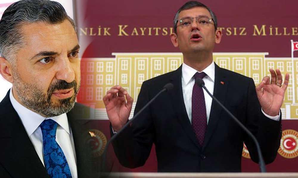 Özgür Özel'den RTÜK Başkanına: Haddini aşmış, terbiyesiz bir bürokrat…