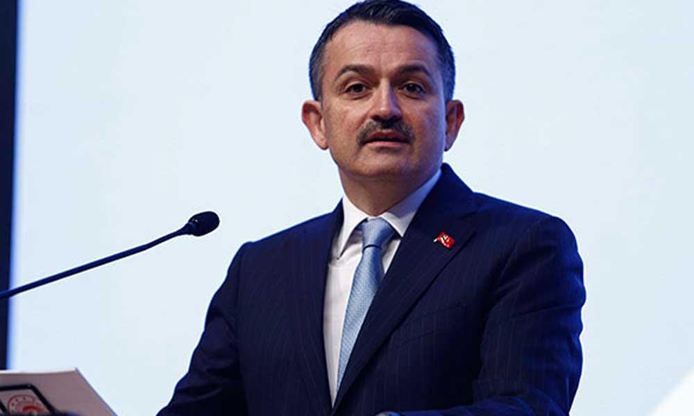 Bakan Pakdemirli: Türkiye tarımsal hasılada Avrupa'da birinci, dünyada 10'uncu sırada