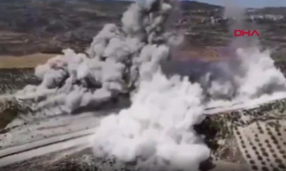 İdlib'te Türk askerlerinin geçişi sırasında patlama: 1 şehit