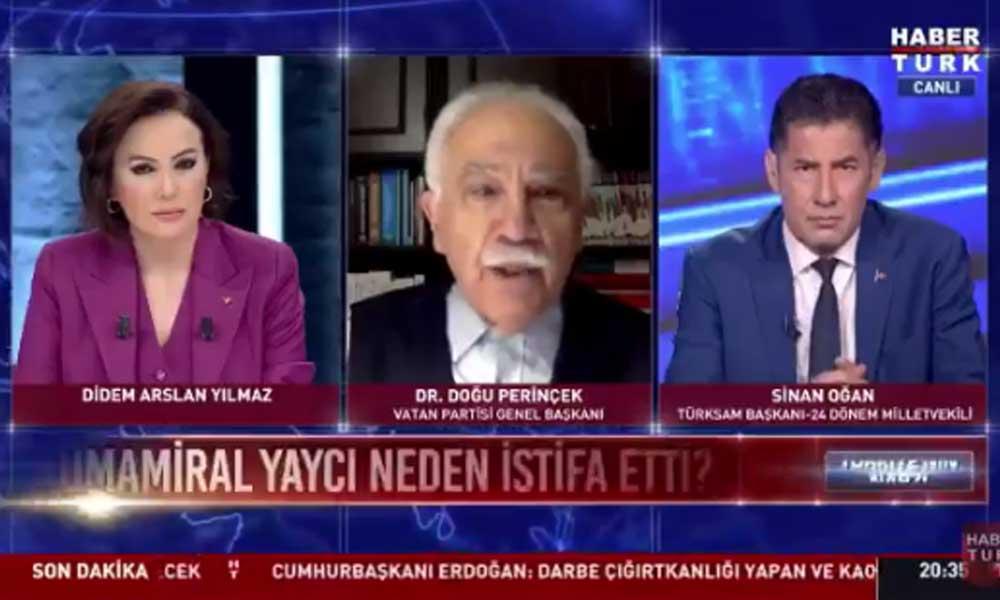 Perinçek'ten istifa yorumu: Askerlik geleneklerimize uygun değil, Atatürk istifa etti mi?