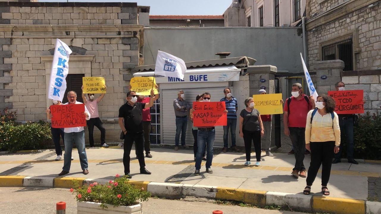 BTS, 84 üyesinin sürgün edilmesini yurt genelinde protesto etti